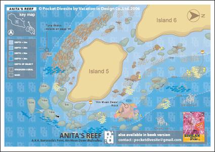 map of Anita