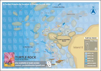 map of Turtle Rock
